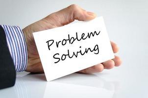 Problemlösungskonzept