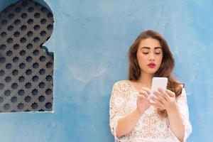 hübsches Mädchen SMS Freunde