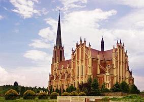 Katholische Kirche der Heiligen Dreifaltigkeit, Gervyaty, Weißrussland