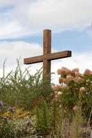 Kreuz auf dem Hügel foto