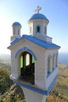 Miniaturkapelle am Straßenrand foto