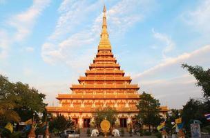 Phra Mahathat Kaen Nakhon, Tempel Khon Kaen Thailand foto