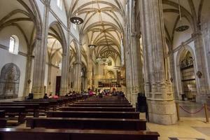 Innenraum der Kathedrale, Los Santos Justos, Alcala de Henares,
