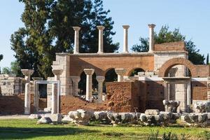 Ruinen der St. Johns Basilika