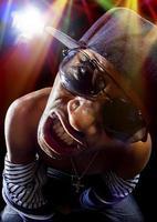 Rapper Hip Hop Konzert