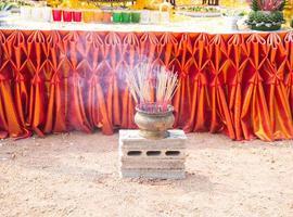 buddhistische Zeremonie foto