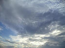 wolkige Himmel