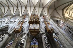 Kathedrale Heilige-Michel-et-Gudule de Bruxelles, Belgien foto