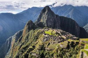 Abendansicht bei Machu Picchu, Peru