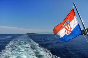 kroatische Kreuzfahrt foto