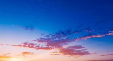 pink, blau und orange foto
