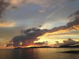 Sonnenuntergang bei Capo Caccia
