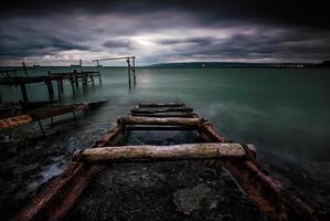 Stürmische See foto