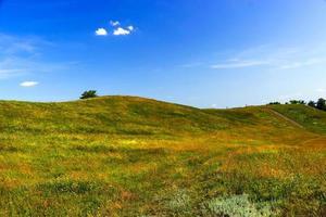 grüne Hügel foto