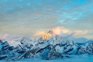 goldene alpen, zermatt foto
