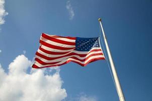 US Flagge foto