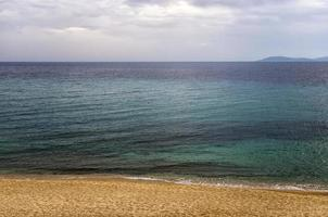 Herbst am Meer, in Sithonia, Chalkidiki, Griechenland foto