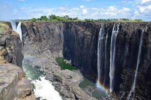 Regenbogen fällt, Victoria fällt, Simbabwe foto