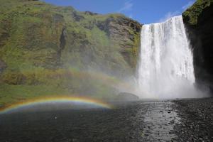 Skogafoss Wasserfall foto