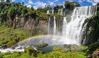 Regenbogen bei Iguazu fällt, Argentinien
