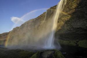 Seljalandsfoss Island foto