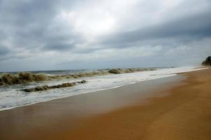 jungfräulicher Strand foto