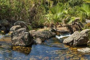 kleiner Kaskadenwasserfall