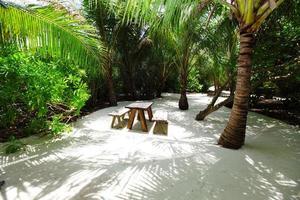 tropisches Café foto