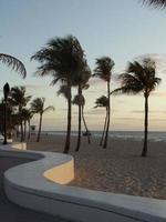 Morgendämmerung in ft. Lauderdale foto