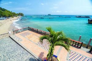 Promenade und Meer foto