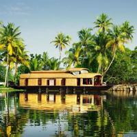 Backwaters von Kerala foto