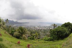 Rabaul Caldere und Vulkan Tavurur