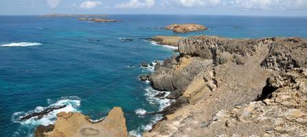 Insel der Küste von Djeu