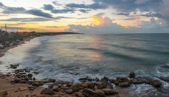 Wellen am Meer foto