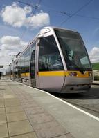 Straßenbahn in Dublin foto