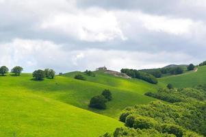 schöne Aussicht Italien im Hochgebirge foto