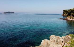 schöne Seelandschaft foto
