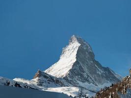 Matterhorn von Zermatt foto