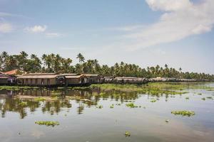 Kerala Wasserstraßen und Boote foto