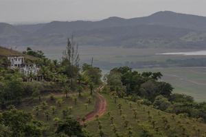 Bauernhof auf dem Hügel