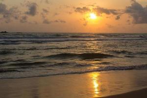Sonnenuntergang in Sri Lanka