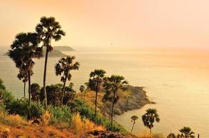 berühmtes Kap, guter Aussichtspunkt in Phuket, Thailand foto