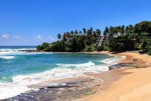 schöner Strand, Tangalle, Sri Lanka foto