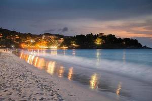 Twilght Beach Phuket Thailand
