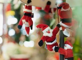 kleines Weihnachtsmann-Tuch foto
