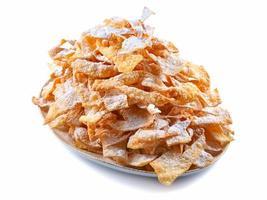 Engelsflügel, Kuchen in Öl frittiert, um fetten Donnerstag zu feiern foto