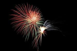 chaotisches Feuerwerk