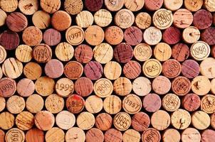 Wand aus Weinkorken