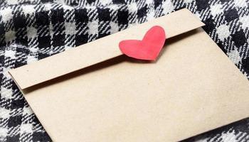 Brief mit Herz