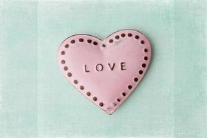 Valentinskarte foto
